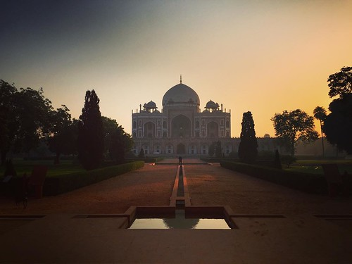 architecture morning sunrise dawn mughal iphone iphone6 incredibleindia apple delhi india megastructure grave humayun tomb