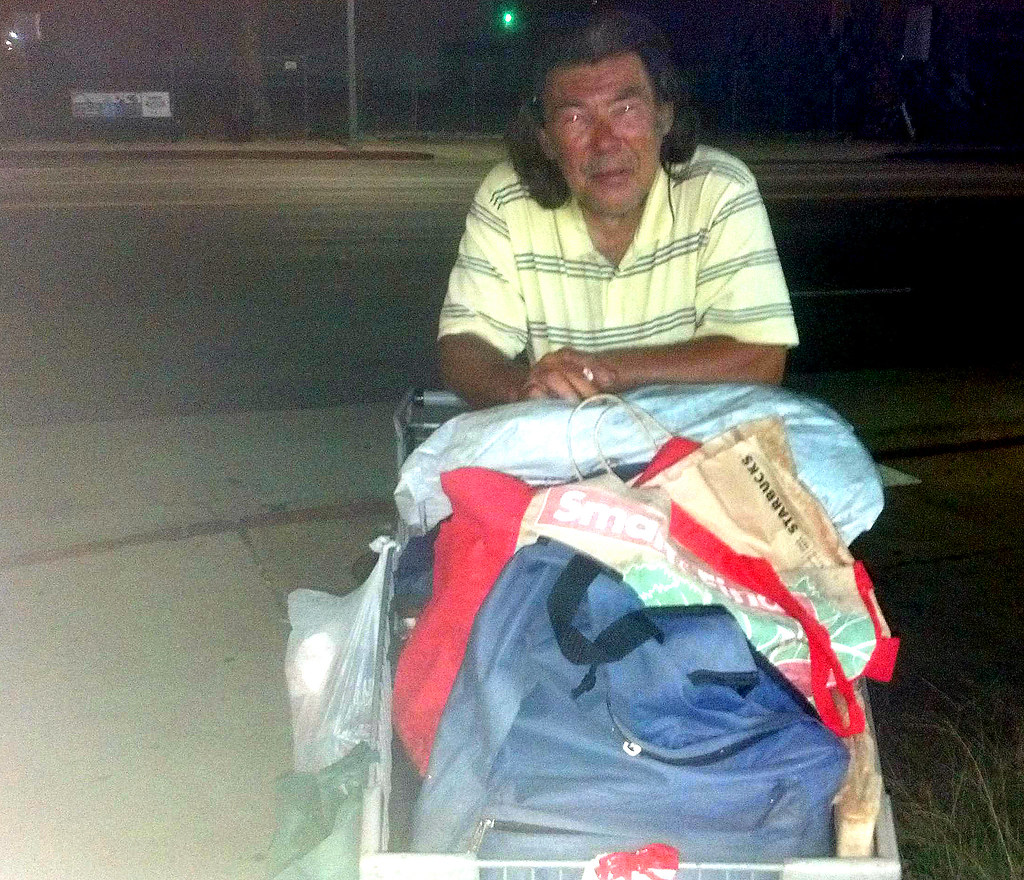 Homeless in America: in 2015, Jim had been homeless for 10 years