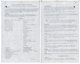 Māori Land March (1975) - Itinerary