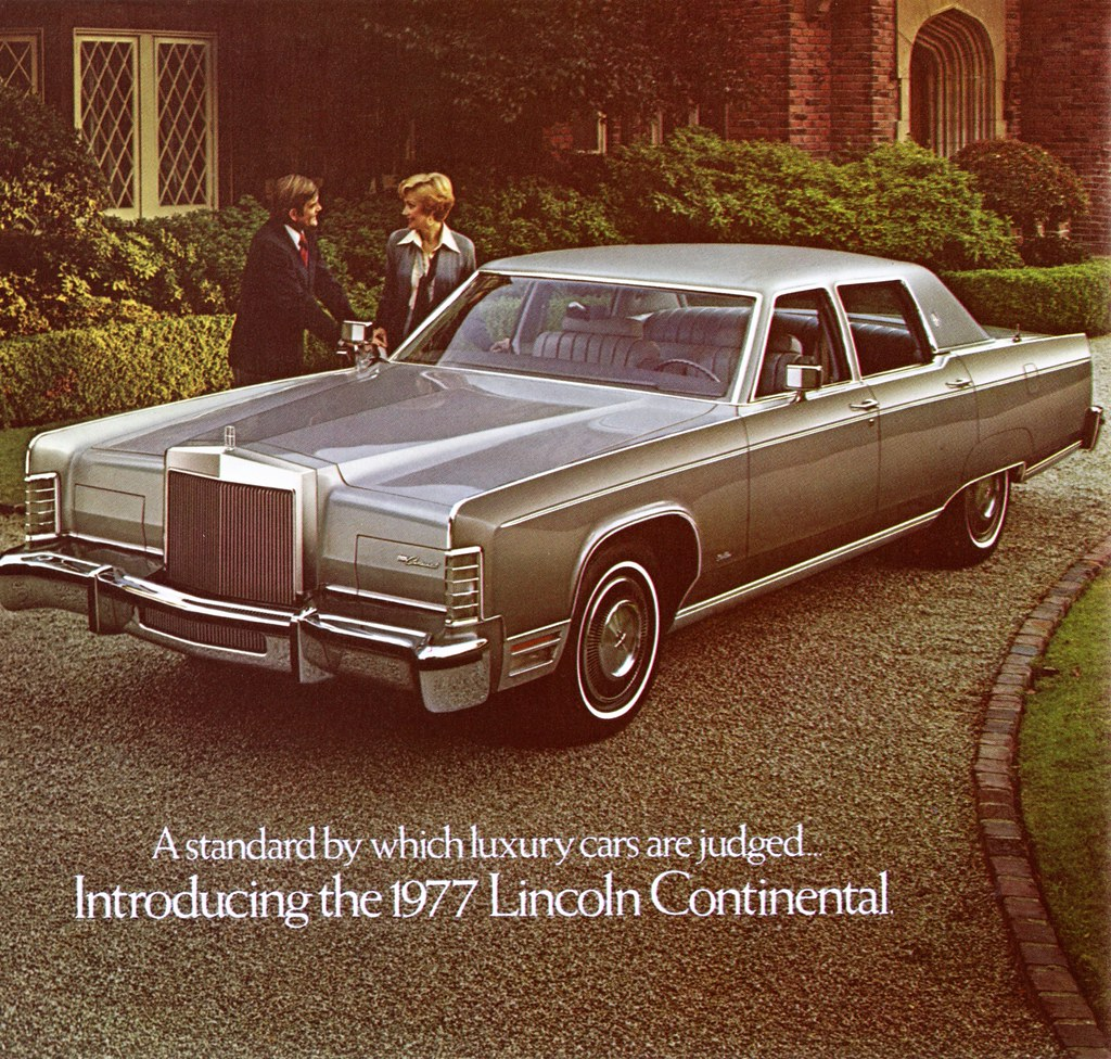 1977 Lincoln Continental Town Car | Alden Jewell | Flickr