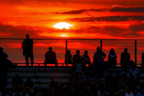 ohio people sun clouds football dusk sony sillouette bleachers highschoolfootball stands sportsfans bleechers leetonia jeff® copyright©byjeffreytaipale j3ffr3y