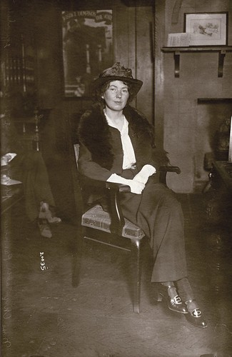 Christabel Pankhurst in New York, c.1914. | by LSE Library