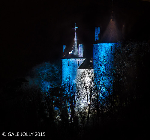 Castle Coch....................doing 'Frozen' | by Gale's Photographs