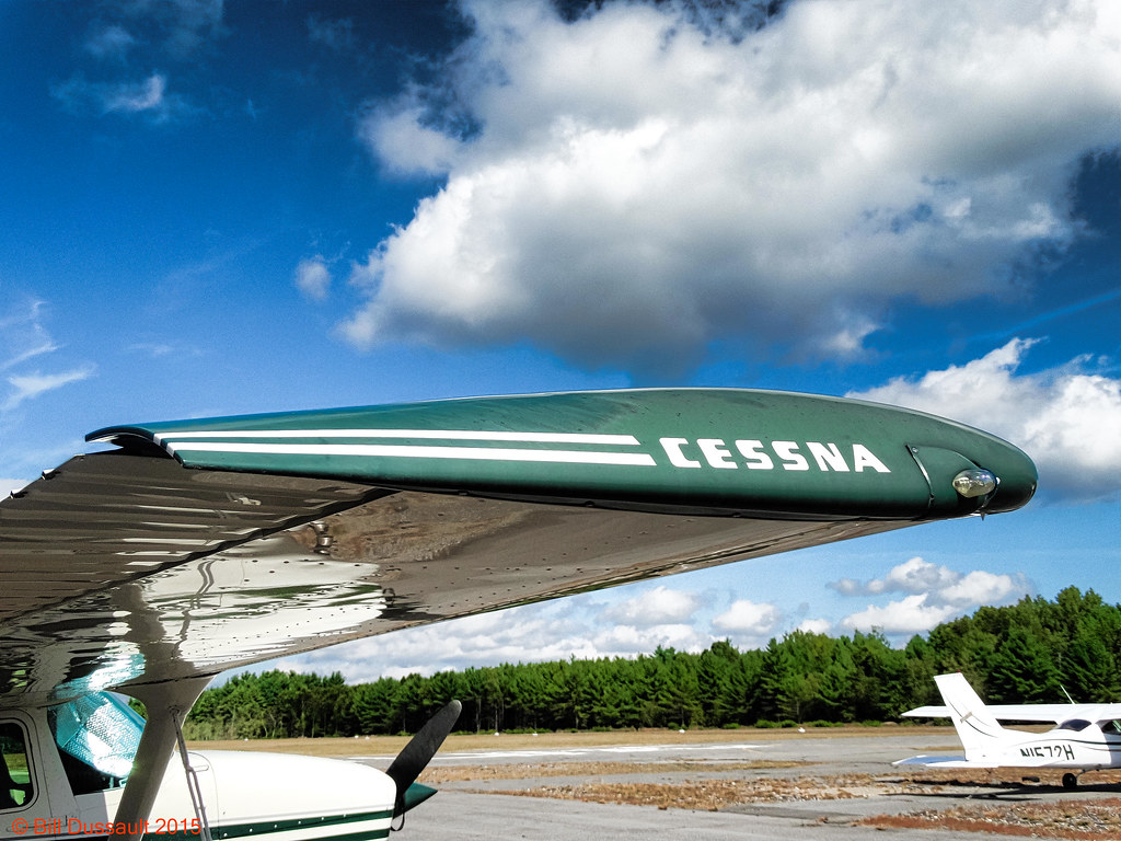 Cessna Wingtip | Sterling Airport, Sterling, MA | Bill
