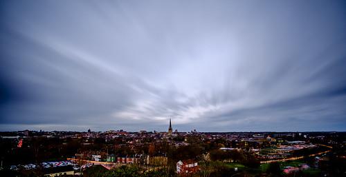 longexposure sky urban clouds dawn traffic norfolk norwich lighttrails 12mm fugi norwichcity stjameshill samyang12mm mousehould
