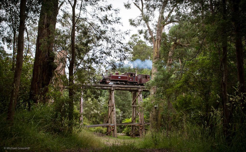 Hidden bridge by michaelgreenhill