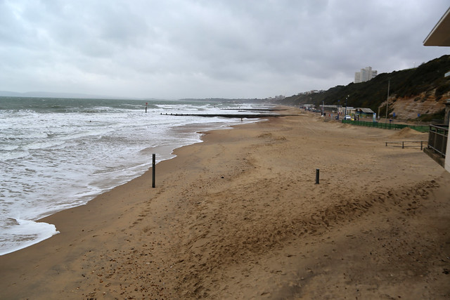 The beach at Boscombe