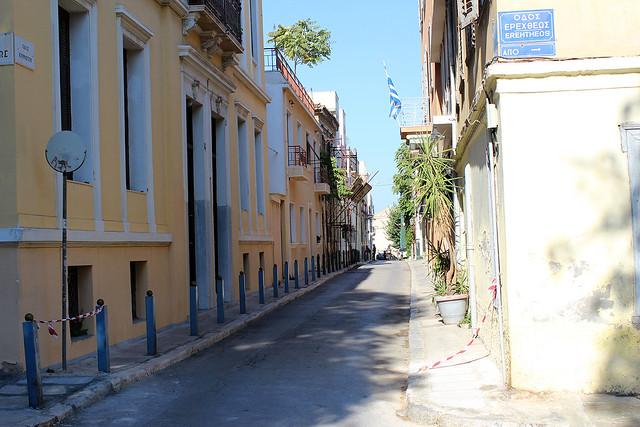 A street of Plaka