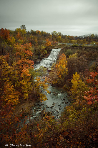 autumn ontario canada color water river cloudy colour fall long niagara waterfall falls mount cascade exposure vertical colours hamilton albion gorge escarpment redhill red hill valley creek