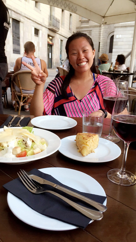 Ly, Cindy; Barcelona, Spain - NINE - Food