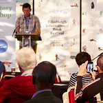 Mike Nicolson reads for Story Shop | Story Shop showcases the talented new writers emerging from our UNESCO City of Literature © Helen Jones