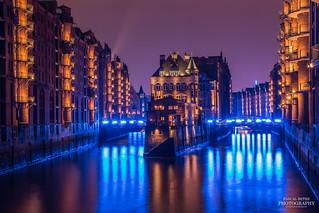 Blue Port - Wasserschloss in der Hamburger Speicherstadt | by diablopb