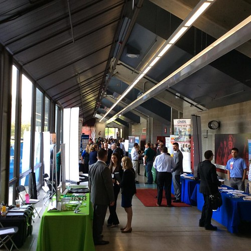 The @wsupullman career expo & technical fair is happening now until 3pm at Beasley Coliseum #WSU #GoCougs