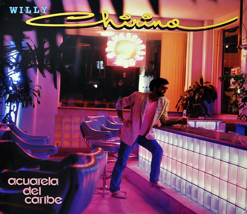 "WILLY CHIRINO ACUARELA DEL CARIBE 12"" LP VINYL 