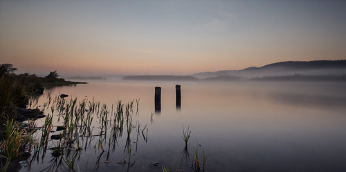 mist water fog sunrise canon landscape dawn scotland twilight waterfront fife sigma loch waterscape mistymorning lochore grantmorris grantmorrisphotography