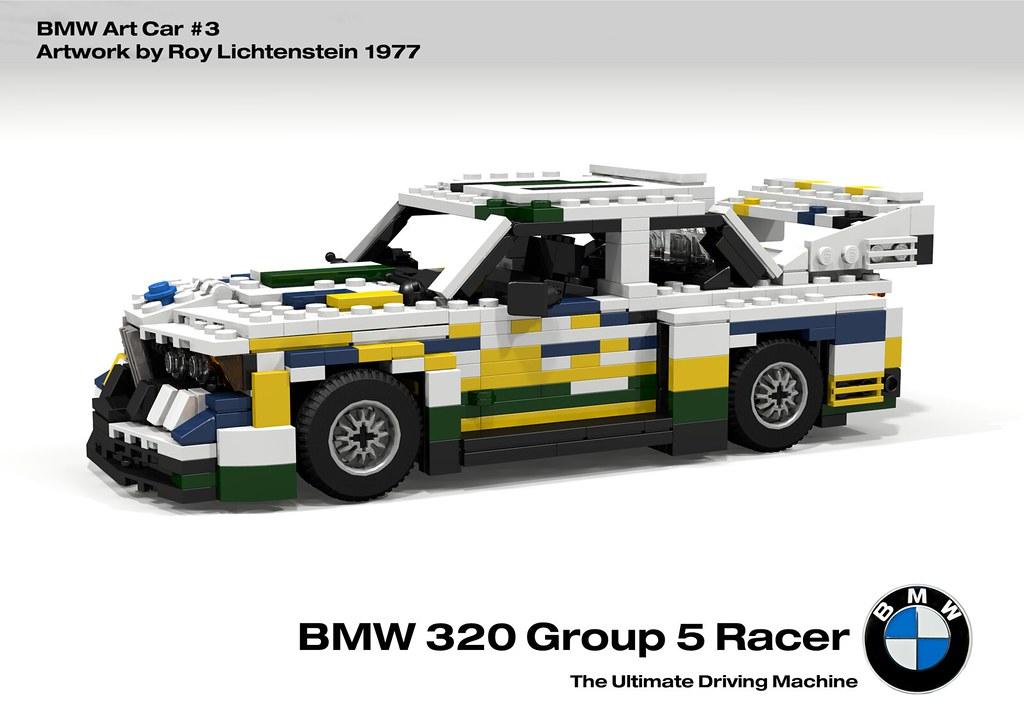 BMW 320 Group 5 Racer - BMW Art Car #3, Roy Lichtenstein - 1977