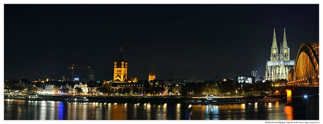 Cologne West of Rhein Panorama