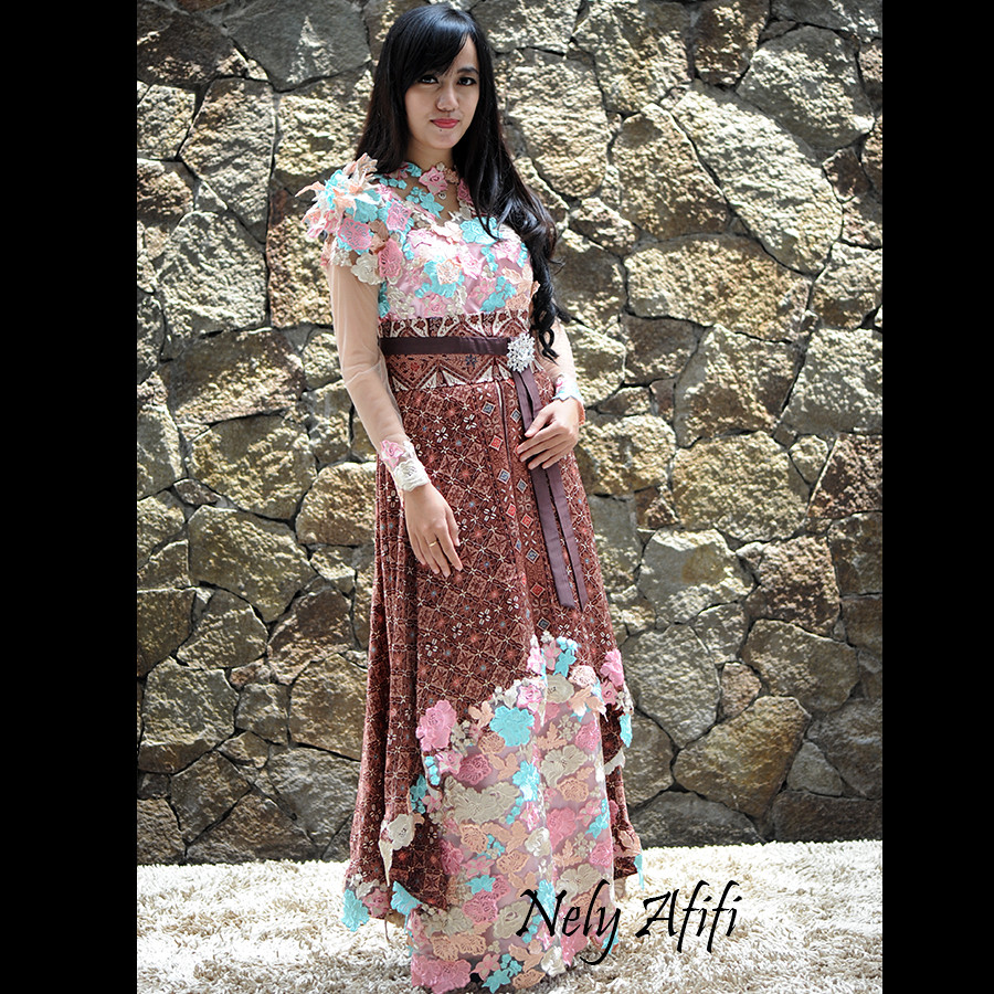 Gaun Kebaya Batik Prada Untuk Evening Dress 17 Gaun Keba Flickr