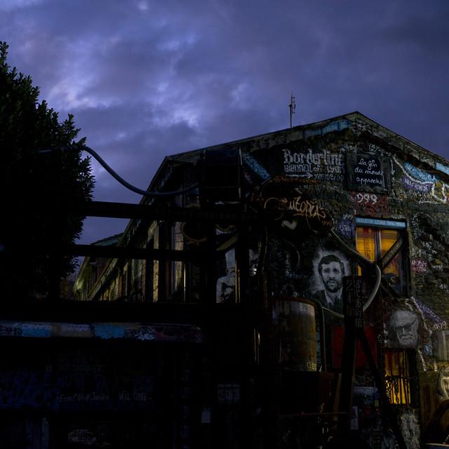 Extrait du Nouvel ouvrage de La Demeure du Chaos - The Abode of Chaos en cours de réalisation par thierry Ehrmann & Marc del Piano