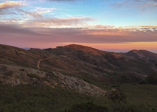 Headlands Sunset from Hawk Camp | by mgp5000