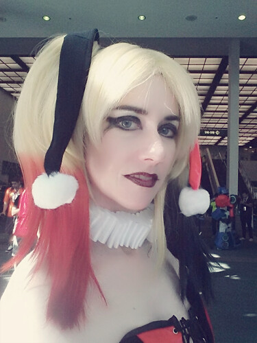 Harley Quinn at Comikaze 2015