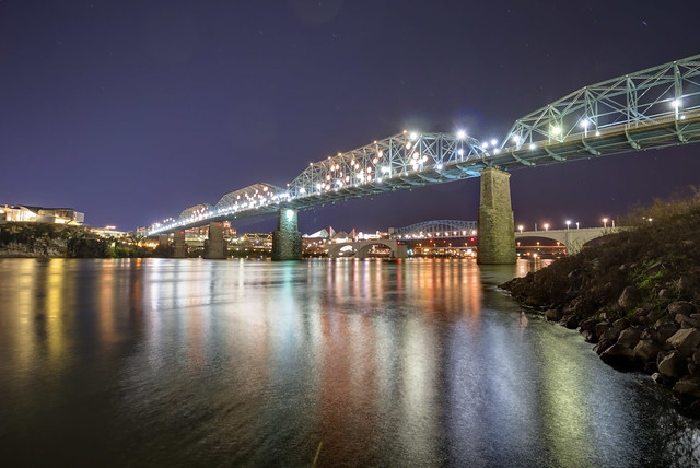 Walnut Street Bridge, Chattanooga, Hamilton County, Tennessee