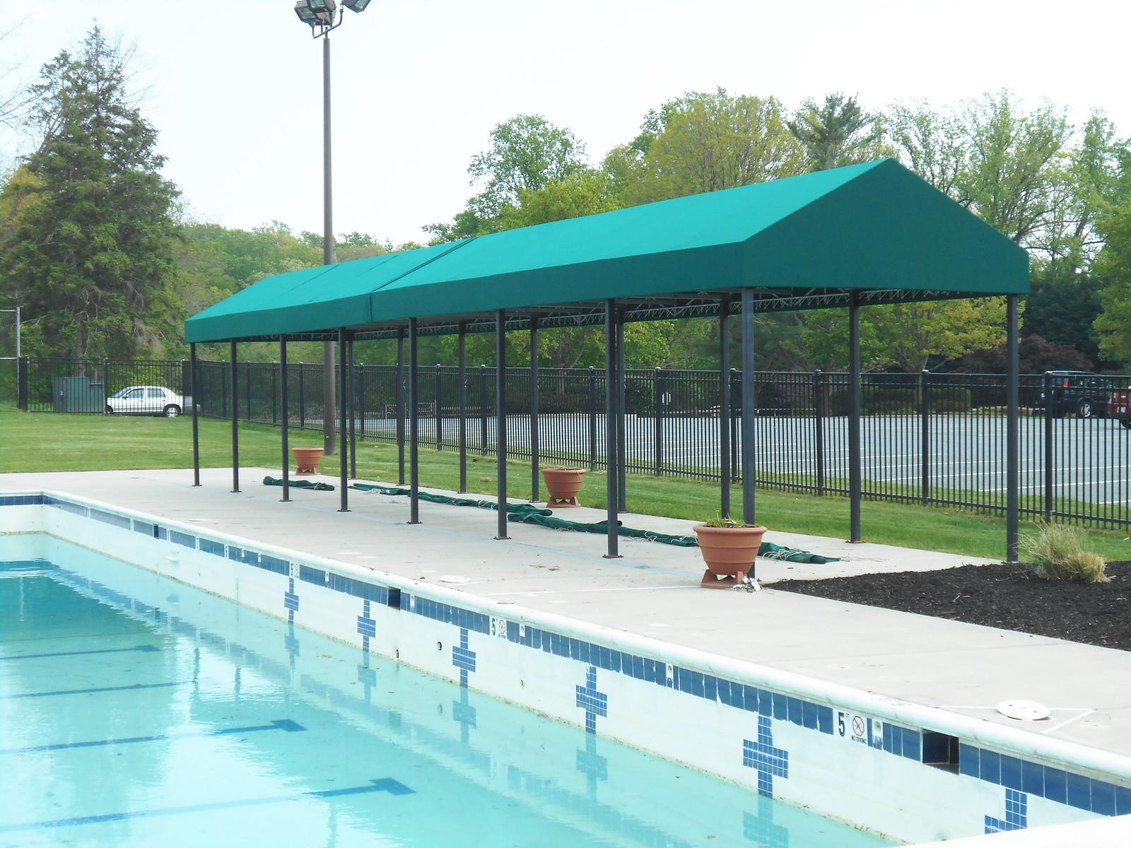 Free-Standing Gazebo Pool Awnings
