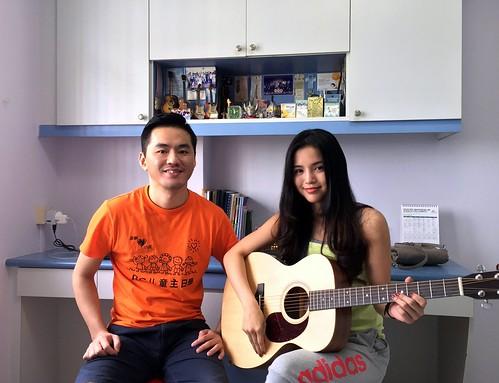 Guitar lessons Singapore Jamie
