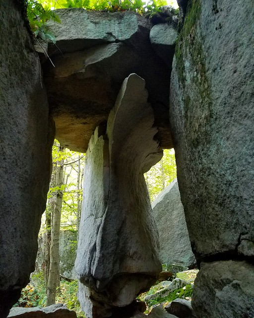 Inside Stonehenge Rock