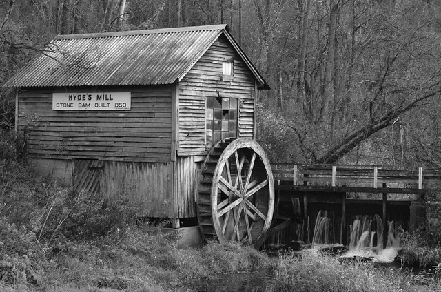 Hyde's Mill BW 1