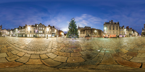2016 360 6d aberdeen pano architect architecture building canon castlegate christmas city darrenwright dazza1040 eos equirectangular f28 infinity light night nightscape panorama panoramic scotland tree virtualtour