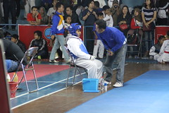 M. Henry Dhafin with Coach Hidayat
