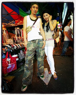 Throwback Seoul Street Fashion: Dongdaemun Reggae Couple, 2007. | by feetmanseoul