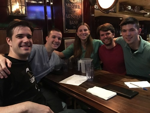 "New Deck Tavern 1st place Quizo winners ""Save The Forum"" 
