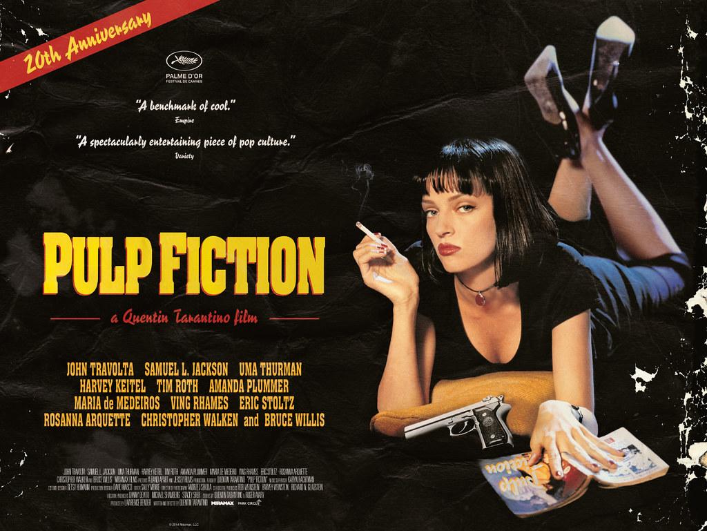 Pulp Fiction UK quad poster | Park Circus | Flickr