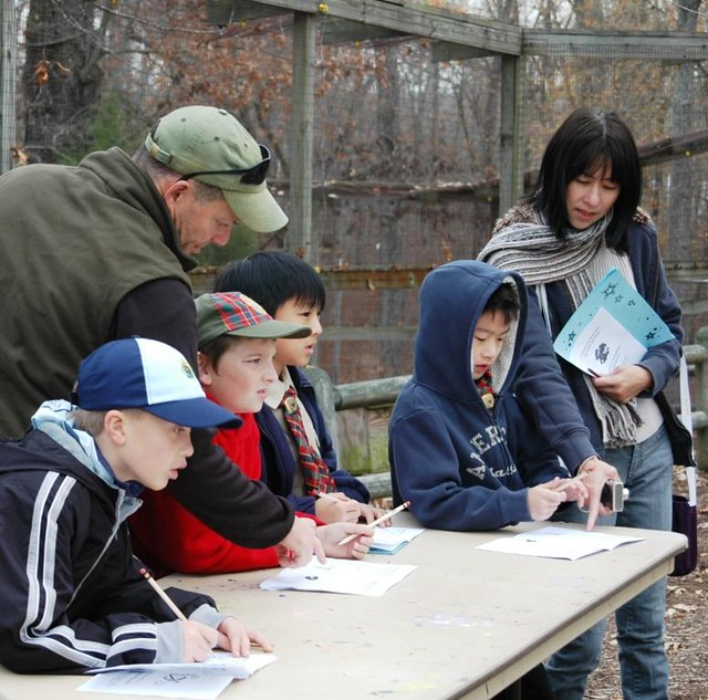 Scout Day at Nature Station