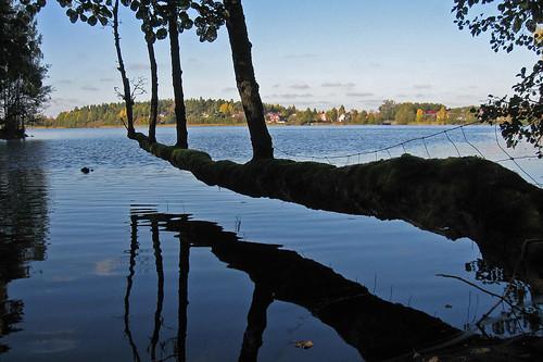 lake view sweden visnaren