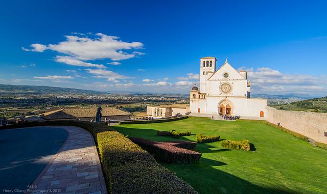 阿西西Assisi - 聖方濟各聖殿 Basilica di San Francesco