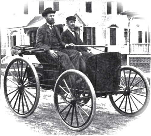 This manufacturing process that started with Hall was adapted to make cars when the Duryea Brothers Photo