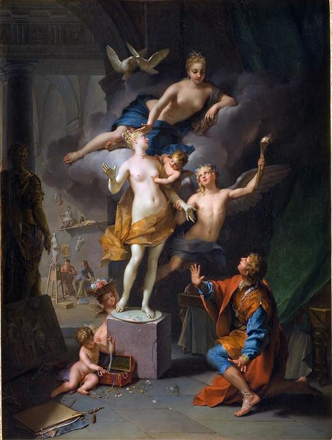+1717: PIgmalión y Galatea