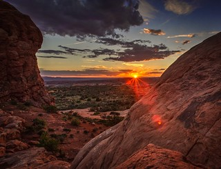 Sundown at Arches | by D. Scott Taylor