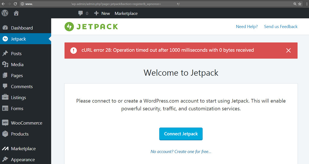 WordPress: Jetpack Install Connect Fail Troubleshooting Ge…   Flickr