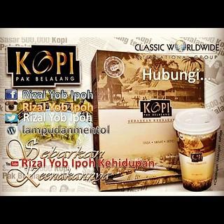 Jom cuba lah... #kopipakbelalangofficial  #kopipakbelalang | by Rizal Yob Ipoh
