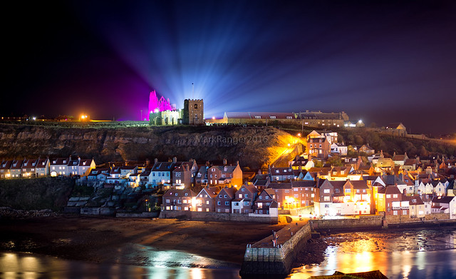 Whitby Abbey Illumination 'Dracula'