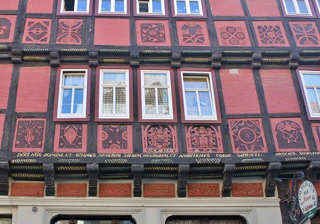 Quedlinburg: Gildehaus Zur Rose