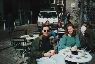 Spring sun in Amsterdam