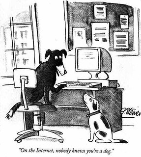 On the Internet, nobody knows you're a dog. | by Ben Lawson