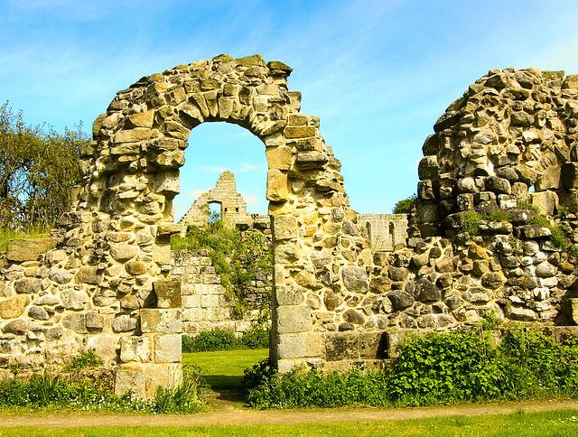 Jervaulx Abbey Doorway