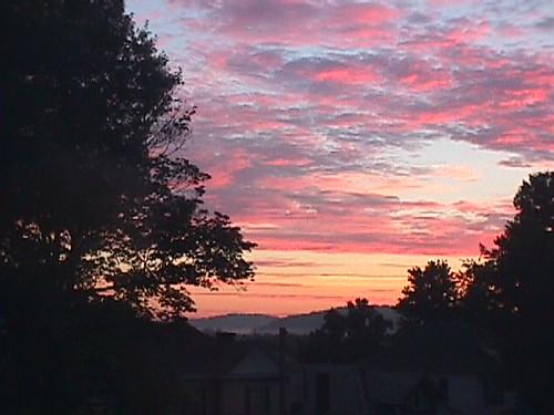 sky sunrise huntington wv huntingtonwv