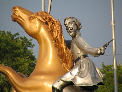 ugly statue nathanbedfordforrest i65 interstate65 nashville tennessee civilwar confederate general bmok nashvilletennessee nashvilletn bmok101 controversial
